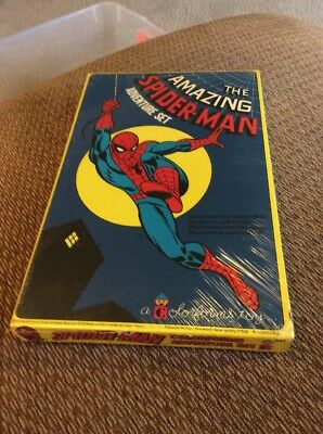 Vintage Colorforms The Amazing Spider-Man 1974  Never Opened