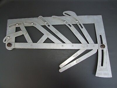 Vintage the Swires roofing square aluminium old tool