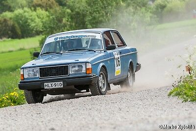 Volvo 242 Dl – Historic G2 Rally Car