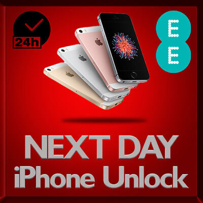 Factory Unlocking Service for Apple iPhone 6S 6 5S 5C 5 7 SE EE UK