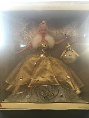 New Celebration Barbie Special Edition 2000 Holiday Barbie Mint Condition