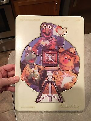 Fisher Price 1981 Muppets The Photographers Puzzle Vintage used