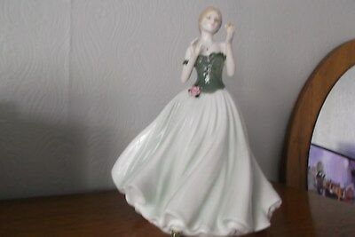 Royal Worcester Figurine - 'keepsake'  Limited Addition 9,004/12,500