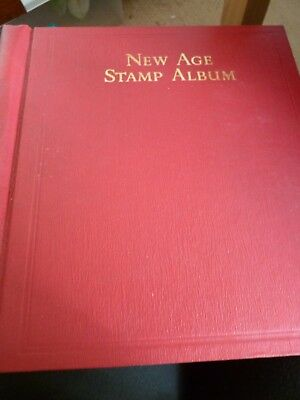 Stanley Gibbon New Age Stamp Album ~ British Empire 1936 - 1940 First section