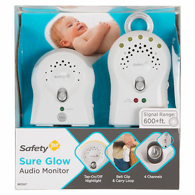 Safety 1st Sure Glow Audio Monitor, White