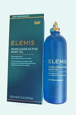 Elemis Musclease Active Body Oil 3.4oz /100ml  Body Performance