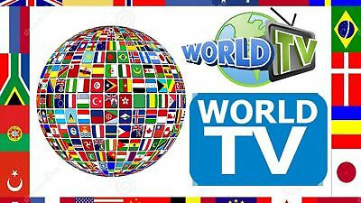 World  IPTV 1 month sub best for Europe , Asian & UK 3 days catch up tv , m3u +