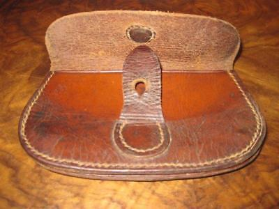 WW1  OFFICERS Leather Ammunition pouch. - Top condition