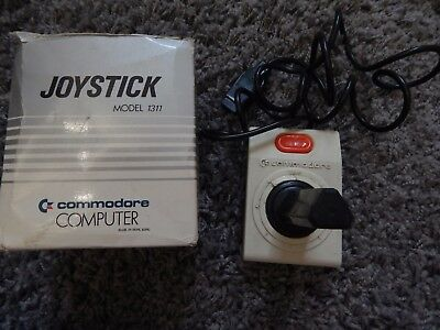 Commodore Vic 20 C64 Vintage Boxed Joystick - Model 1311 - Very Rare