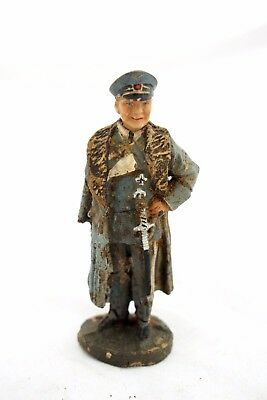 Pre-war Germany Elastolin Lineol Toy Soldier Luftwaffe Reichsmarschall Leader