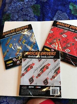 NASCAR Drivers Stretchable Book Covers