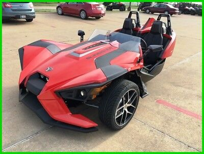 Other Makes Reverse Trike SL Red Pearl  2016.5 Polaris Slingshot Reverse Trike SL Red Pearl New