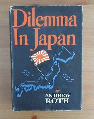old 1945 JAPAN WW2 BOOK Roth