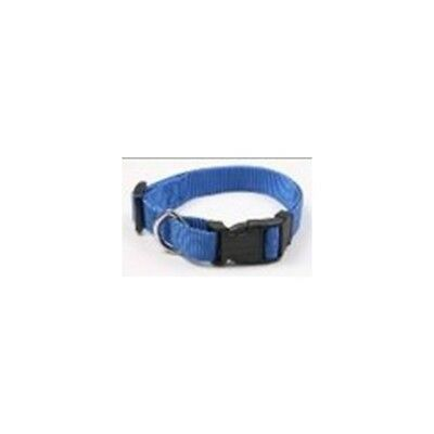 Collar Regulable En Nylon Azul (2,5X60Cm)