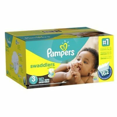 *NEW* Pampers Swaddlers Diapers Size 3, 162 Count