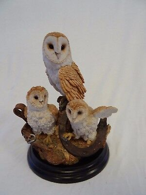 Country Artists G500 Shadows in The Barn owl figurine