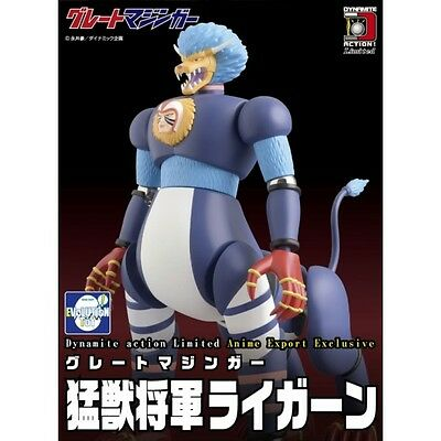 Dynamite Action Limited Great Mazinger Mazinga Ligern Wild Beast General Figures