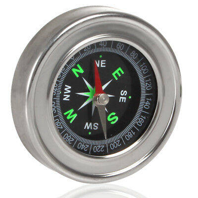 60mm Stainless Steel Small Mini Compasses for Outdoor Survival Tools Kit