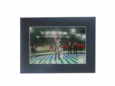 Martin Johnson Signed England Rugby World Cup Winner Display + *coa*