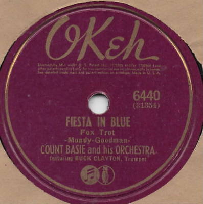 "78er Jazz Swing Count Basie Orchestra ""Fiesta in Blue"""