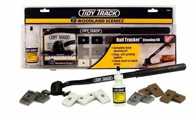 Bachmann Woodland Scenics TIDY TRACK track cleaning system for Model Train Sets