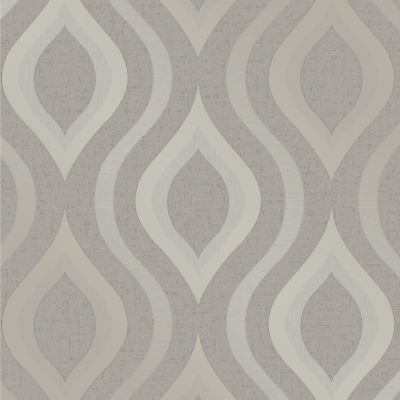 Quartz Geometric Wallpaper Pewter Fine Decor Feature Wall Decor New Fd41978
