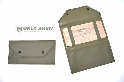 British Army Land Rover / Vehicle Document Holder Ex MOD Issue Car Papers Holder