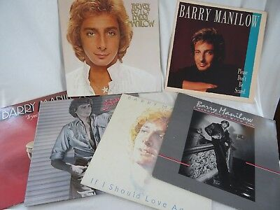 Barry Manilow vinyl albums