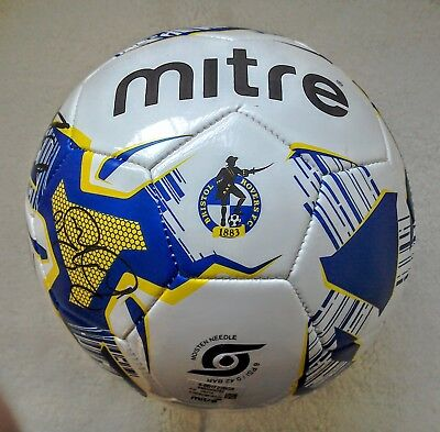 Bristol Rovers Fc 2017/18 Squad Signed Football. Brand New