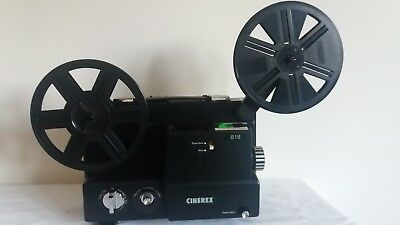 Cinerex 818 - Dual 8mm Movie Projector with box