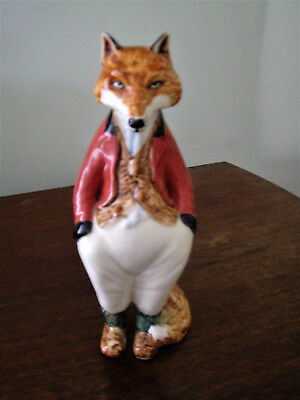RYE POTTERY CINQUE PORTS COUNTRY GENTLEMEN SQUIRE SIR FREDDY FOX by JAMES ELLIOT