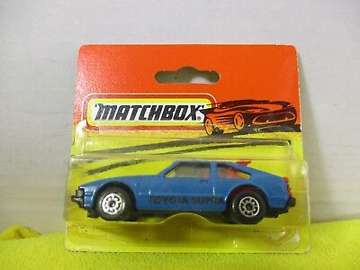 Matchbox Vintage Made In Bulgaria Toyota Supra