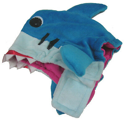 Shark Head Dog Costume Fancy Dress Halloween