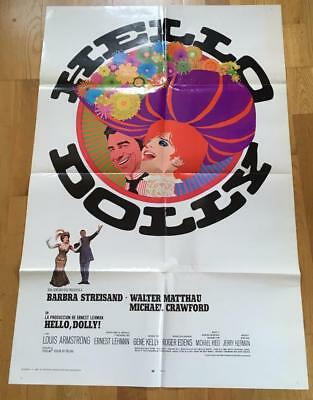 Vintage Spanish Movie Poster - Hello Dolly - Barbra Streisand