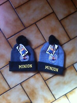 bonnet lot de 2 bonnet MINION