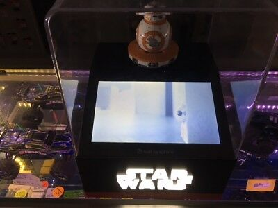 Star Wars Sphero BB8 Display with video