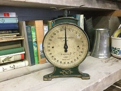 Old Cast Iron Metal Salter Kitchen Scales Base