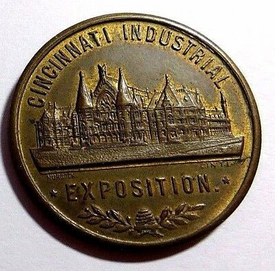 1928 Cincinnati Industrial Expo - Good Luck -  1878-1928 - Onward - Unc- R/b  Nr