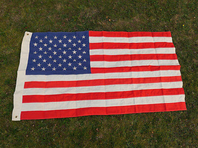 US ARMY Camp Jeep Fahne 50 Sterne Stars & Stripes Flagge Baumwolle 155x93cm