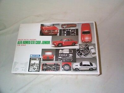 1/24 Gunze-Alfa Romeo GTA 1300 Junior-High-Tech kit-1992-Still in Factory Shrink