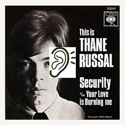 THANE RUSSAL - Security / Your Love Is Burning Me - Riff laden guitar monster!