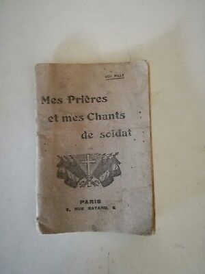 French army prayers and soldier songs booklet