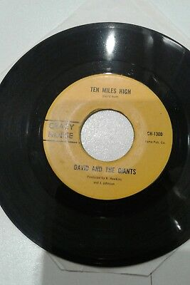 ♫ David & The Giants ~ Ten Miles High ~ in very good condition Northern soul