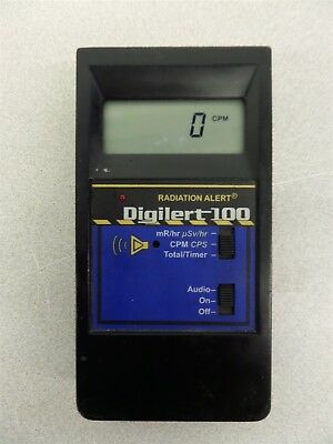 S.E. International Digilert 100 Digital Nuclear Radiation Monitor