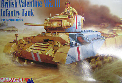 1:35 Dragon 9024 British Valentine Mk. III Infantry Tank