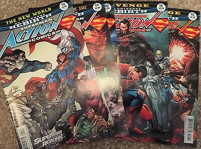 DC Action Comics Superman Issues 978 To 982 Rebirth