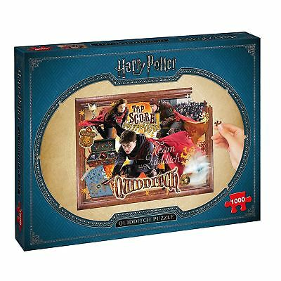 Harry Potter Quidditch Puzzle 1000 Piece Jigsaw Puzzle