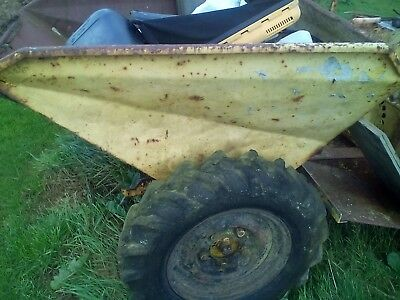 barn find,diesel dumper not working.