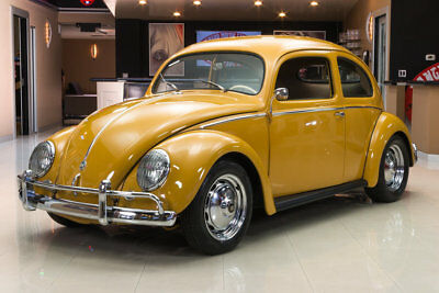 1956 Volkswagen Beetle - Classic Oval Window Oval Window! 1776cc Engine, 4-Speed Manual, Body Off Pan Resto, German Metal WOW