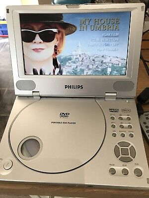 Philips Portable DVD Player PET810